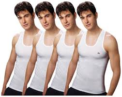 Lux Cozi Premium Pack Of 4 White Mens Vests
