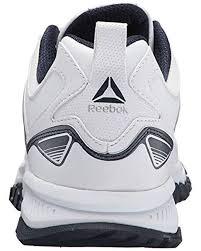 reebok white ridgerider leather sneaker for men lyst