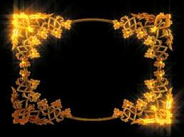 golden lovely photo frame animation motion graphics hd
