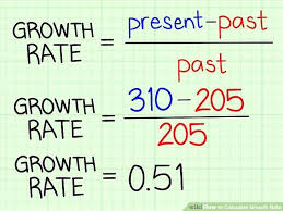 annual growth rate formula math exponential and decay is fun how do you calculate population example