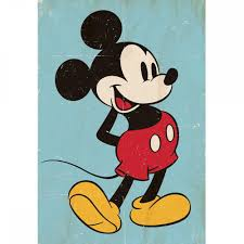 Mickey Mouse Wallpaper For Bedroom Vintage Mickey Mouse Wallpaper Great Kidsbedrooms The Children