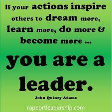 Quotes About Being A Leader Unique True Leader R Lewis Quotes Pinterest Motivation Success