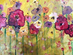 public event spring flowers painting party at mezzo pazzo wine bar