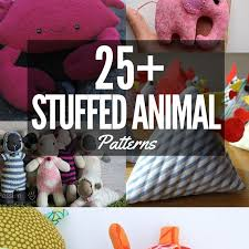 Free Stuffed Animal Patterns Delectable Stuffed Animal Patterns The Sewing Loft