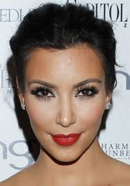 kim kardashian has so many diffe make up looks that can be used as inspiration on your wedding day you could try adding a pop of colour with a red lip