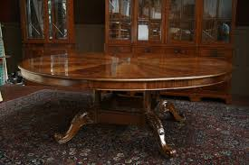 how to fit large round dining table into your space for 96