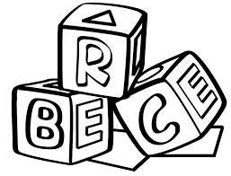 Color the video characters by kids learning tube! Block Letter Coloring Pages Coloring Home