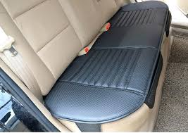 rear seat covers accord in black and silver inserts