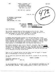 lawsuit debt settlement letter 47 percent Citibank 001 001