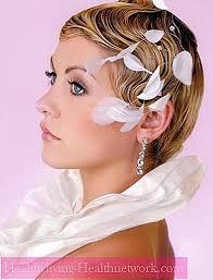 Coiffure Pour Les Cheveux Courts Pour Un Mariage Pour La