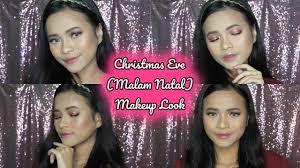 eve malam natal makeup look veronica chriella