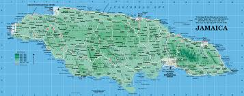 jamaica map  map of jamaica from caribbeanonline