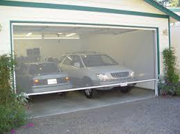 retractable garage door screensLarge Opening Retractable Screens  Garage Doors Patios any