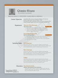 Free Modern Resume Template Downloads Modern Resume Templates Free Download For Microsoft Word Cool
