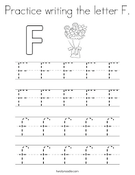 Letter F Templates Letter F Printable Letter F Coloring Practice Writing The Page