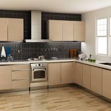 tanzania fashionable oak grain melamine kitchen cabinet