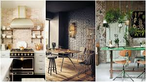 Exposed Brick Wall Add Warmth And Coziness To Your Home With Exposed Brick Walls