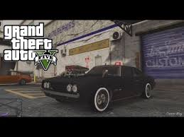 Gta V Muscle Car Tuning Youtube