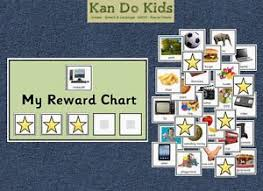 Behaviour Reward Chart Autism Aspergers Sen Special