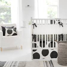 black and white crib bedding from new arrivals