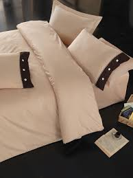 <b>Комплект постельного белья Cotton</b> Box серия Plain, модель Bej ...