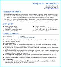 Administrator Cv Example + Writing Guide And Cv Template