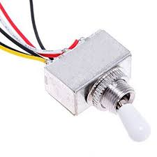 kmise a8194 wiring harness prewired 2v2t 3way toggle switch jack kmise a8194 wiring harness prewired 2v2t 3way toggle switch jack 500k pots for gibson guitar