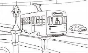 レク素材 昭和の町路面電車介護レク広場レク素材やレクネタ企画書