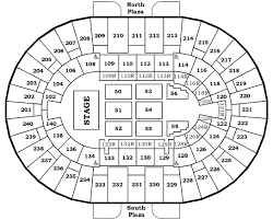 Stage 42 Seating Chart Seating Charts North Charleston Coliseum Performing Arts