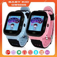 Đồng hồ định vị GPS an toàn trẻ em Baby Kid GW500S Camera chụp ảnh từ xa giá  rẻ nhất Hà Nội, HCM