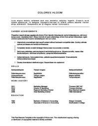 Functional Resume Template Jmckell Com