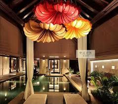 beauty salon lighting. A1 The New Chinese Style Pendant Lights Creative Fabric Beauty Salon Restaurant Conch Hotel Project Lighting