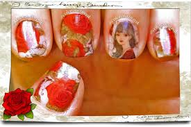 ☆How to Apply Water Decals- Nail Art Designs-Floral Roses- NICOLE ...