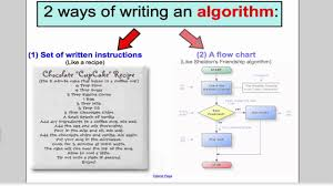 Trace Table For Flow Chart Algorithms Tutorial 1 Decision 1 Edexcel A Level