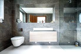 large bathroom tiles bathroom tile ideas use large tiles on the floor and walls these large large bathroom tiles grey