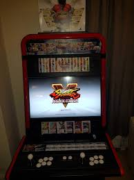 my vewlix street fighter v arcade cabinet more pics linked in ments