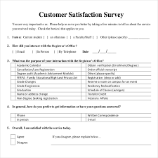 Sample Client Satisfaction Survey Stunning Customer Service Questionnaire Trisamoorddinerco