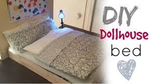 Diy barbie doll furniture Diy Kid Youtube Diy Craft Barbie Doll Bed Youtube