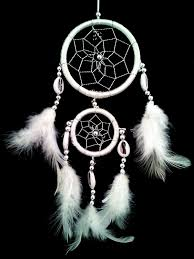 Dream Catchers Organization Amazon White Dream Catcher with Feathers Wall or Car Hanging 62