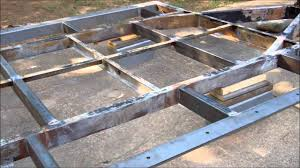 Small Picture Tiny House Build Trailer Frame Part two YouTube