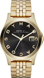 marc by marc jacobs mbm3315 the slim gold toned pvd watch for gallery
