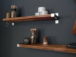 reclaimed shelving units rustic wood open headboard with shelves