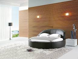 ultra modern bedroom furniture. Bedroom:Ultra Modern Bedroom With Round Black Austin King Bed Curved Headboard On Ultra Furniture N