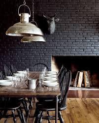 interior design view painting interior brick wall decoration