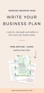 Wedding Planner Business Plan Template