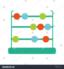 Isolated Abacus Design Stock Vector Royalty Free 765159142