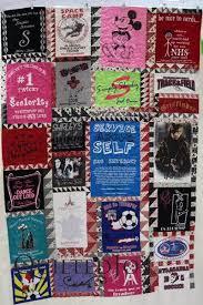 A Heartfelt Gift of a T-Shirt Quilt - & Jamie's T-shirt quilt for her niece, Kelsey, blends a wonderful selection of Adamdwight.com