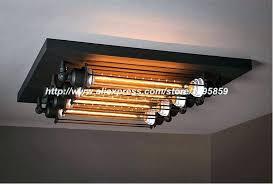 industrial style flush mount ceiling lights light fixtures ng fixture black metal living dining room lighting industrial semi flush mount lighting
