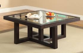 wooden coffee table designs with glass top black square traditional coaster