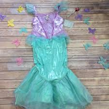 Disney Store Clothing Size Chart Nwt Disney Store The Little Mermaid Ariel Costume Nwt